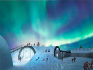 Ледяной отель в шведской Лапландии будет принимать гостей круглый год